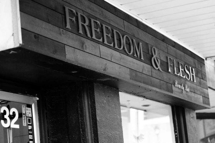 Freedom-And-Flesh-Kitchener-Beauty-Bar-Salon