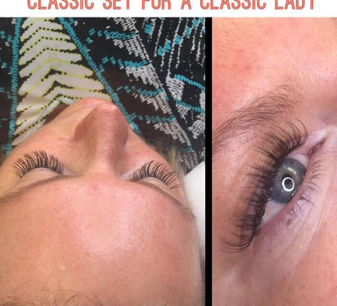eyelashes-extensions-tinting-kitchener-freedom-and-flesh-beauty-bar-eyebrows-waxing-hybrid-classic-set